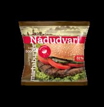 Nádudvari marhaburger (51% marhahús tart.) 500g