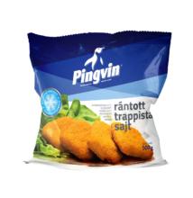 Pingvin fagyasztott rántott trappista sajt 500g