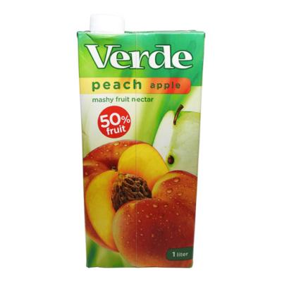 Verde őszibarack ital 50% 1l