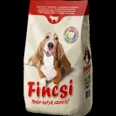 Kutyaeledel száraz Fincsi marhahúsos 3kg