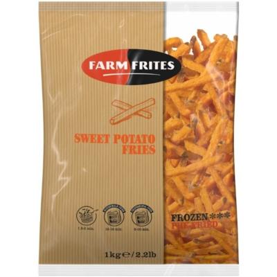 Farm Frites fagyasztott édesburgonya hasábok 1000g