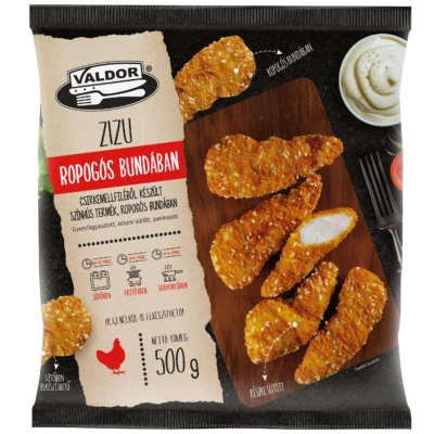 Hungerit Valdor Zizu kedvence csirkemellfilé bundában 500g