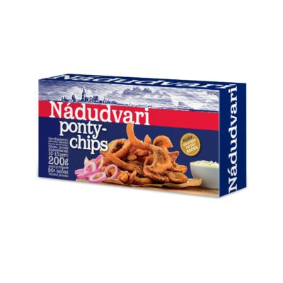 Nádudvari Ponty chips tartár szósszal (200g ch.+ 90g sz.)