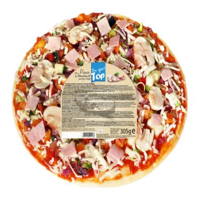 König-Units Domana fagyasztott sonkás-gombás pizza 305g