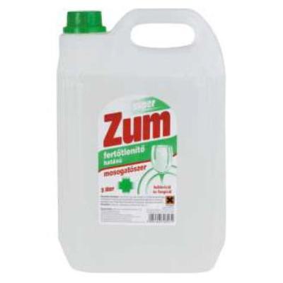 Fertőtlenítő mosogatószer 5l Zum