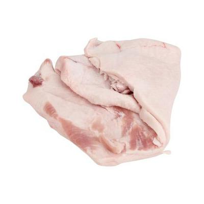 Friss sertés zsírszalonna lédig (ipari) (bőrös)