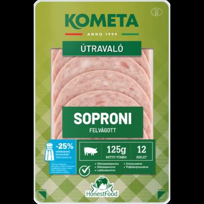 Kometa Útravaló Soproni felvágott szeletelt vg. 125g