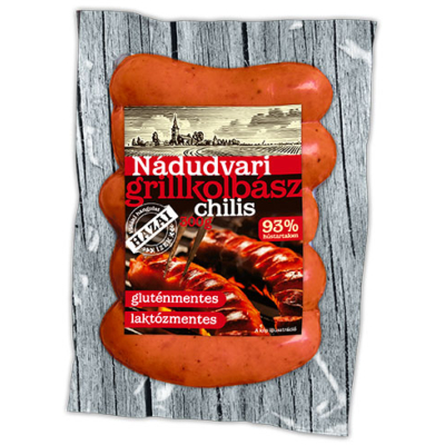 Nádudvari Chilis grillkolbász 300g vcs.