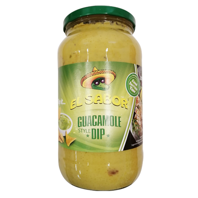 El sabor guacamole szósz 1kg