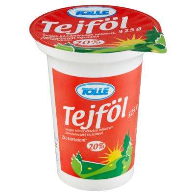 Tolnatej Tejföl 20% 325g