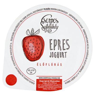 Cserpes Joghurt epres 250g