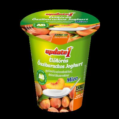 Mizo Update AB joghurt barackos 125g