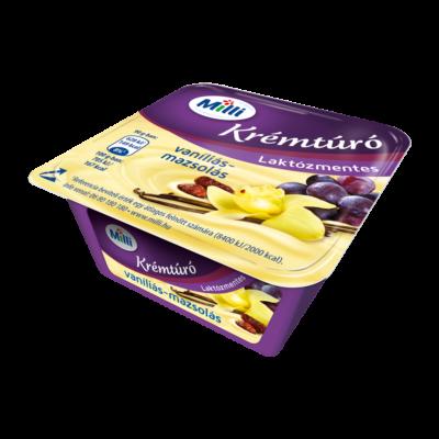 Friesland Milli krémtúró vaníliás-mazsolás laktózmentes 90g