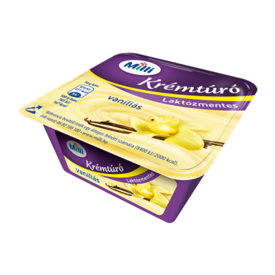 Friesland Milli krémtúró vaníliás laktózmentes 90g