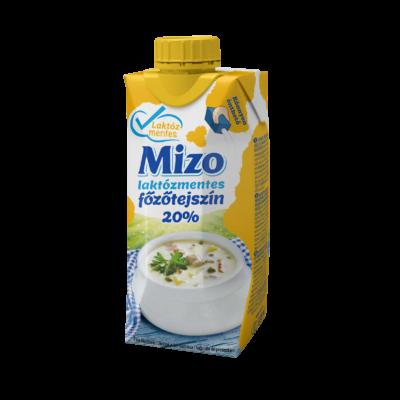 Mizo Főzőtejszín laktózmentes 20% UHT 330ml