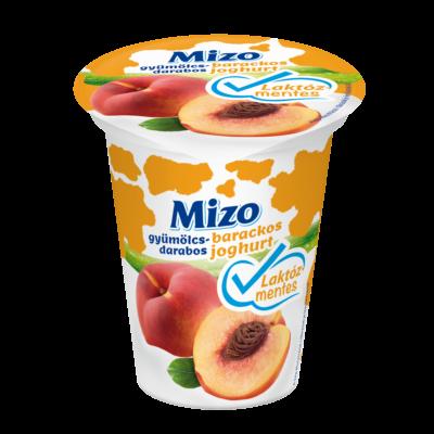 Mizo Gyümölcsdarabos joghurt laktózmentes barackos 150g