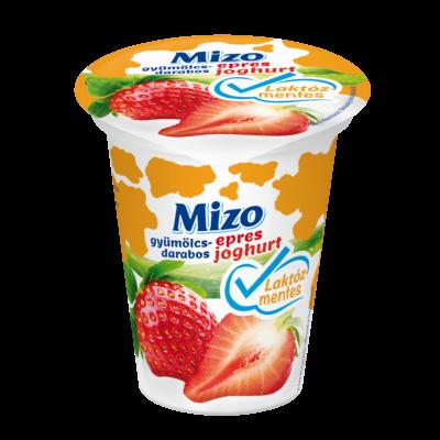 Mizo Gyümölcsdarabos joghurt laktózmentes epres 150g