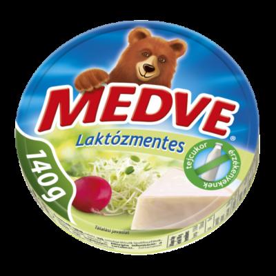 Savencia Medve sajt 8 cikkelyes laktózmentes 140g