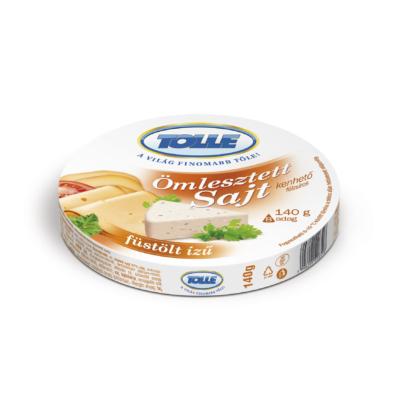Tolnatej Ömlesztett félzsíros sajt 8 cikkelyes füstölt 140g