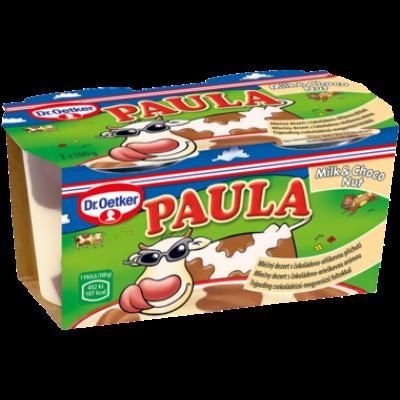 Dr. Oetker Paula tejpuding mogyoróízű foltokkal 2*100g