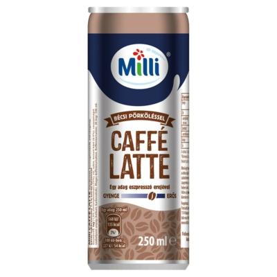 Milli caffe latte dobozos 250ml