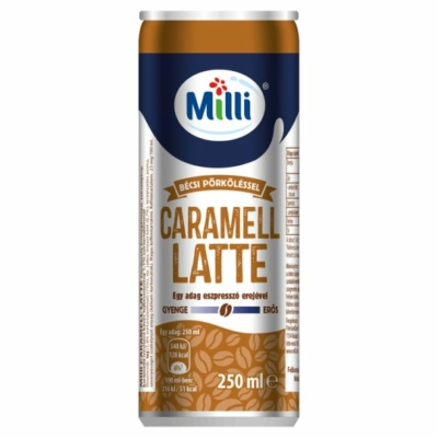 Milli karamell latte dobozos 250ml