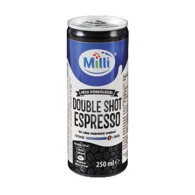 Milli double shot espresso dobozos 250ml