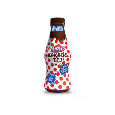 Pöttyös kakaós tej (hozzáadott cukor nélkül) 300ml