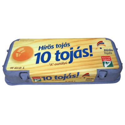 """Hírös Farm Tojás 10 db """"A"""" osztályú """"L"""""""