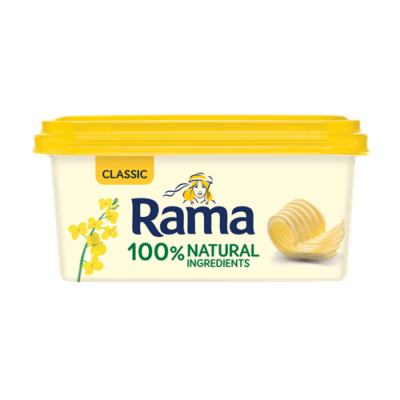 Rama tégelyes margarin classic 400g